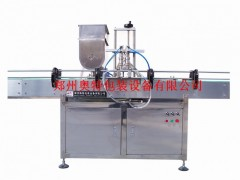 AT-KLJ-L2全自动搅拌式颗粒酱灌装机