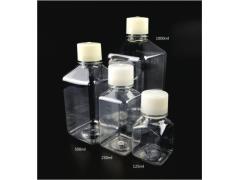 WHB 灭菌125/250/500/1000ml方形培养基瓶