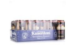 德国进口凯撒王窖藏白啤酒24*330ml【 凯撒王价格】