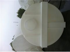 2000升平底计量箱2000L耐酸碱PE计量桶加药计量泵装置
