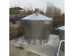 新型开放式冷凝器型号  圣嘉小型白酒设备报价