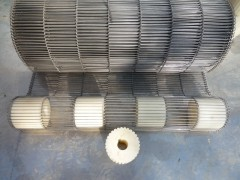 不锈钢304 乙型网带 油炸食品专用网带 有耐高温等特点