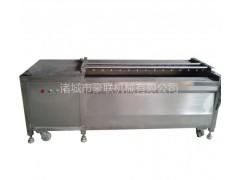 豪联牌HLXM-2200型毛辊清洗机 洋芋 魔芋 芋头清洗机