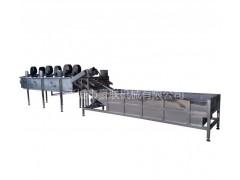 清洗风干线 果蔬清洗-风干线 豪联牌HLXF-6000型