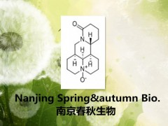 高纯氧化苦参碱 Oxymatrine 16837-52-8