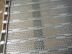 供应冲孔不锈钢链板 摊凉机链板 排屑链板