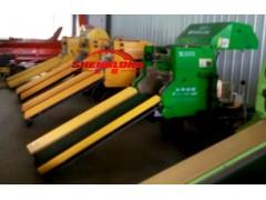 柴油机全自动苜蓿草青贮打捆包膜机视频