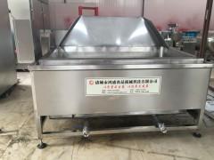 鸿盛出售 刀鱼油炸锅 海鲜油炸机 燃气油炸机 质量保证