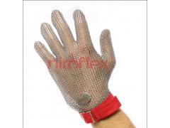 德国正品niroflex 单只五指防切割不锈钢金属钢丝手套