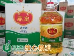 鼎皇非转基因大豆油 餐饮专用 10升X2