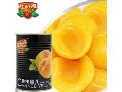 厂家直销一手货源425g白桃罐头大瓶新鲜水果罐头
