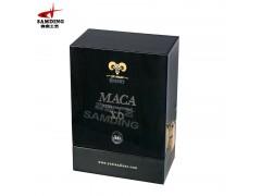 高档礼品包装盒 高光烤漆实木包装盒