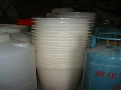 供应50升下边塑料圆桶 打浆桶 pe桶 水桶 酸洗桶