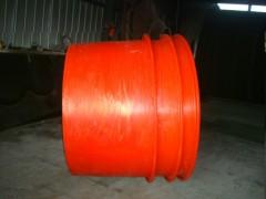 供应耐酸碱PE圆桶专业洗纱桶滚塑涂料容器稀盐酸塑胶圆桶