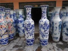 庆典用陶瓷大花瓶订制厂家