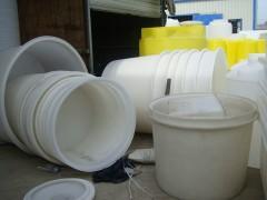 特价批发耐用pe水桶 80L带盖工业塑料水桶 垃圾桶