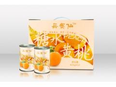 每赛仙糖水黄桃罐头425g*12罐礼盒装