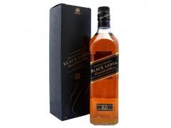 洋酒威士忌40度英国尊尼获加黑方黑牌威士忌进口洋酒威士忌