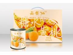 每赛仙糖水黄桃罐头820g*6罐礼盒装