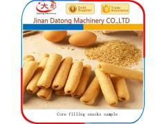 夹心米果机膨化夹心糙米卷食品生产设备