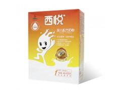 西悦优护系列婴幼儿配方奶粉盒装一段