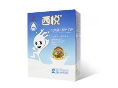 西悦优护系列婴幼儿配方奶粉盒装二段