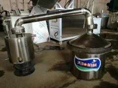 家用小型生料酿酒机购机带技术