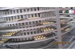 食品输送网带 不锈钢耐高温材质 食品生产流水线