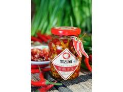 聚名湘 湖南特产剁椒刀豆210g*12瓶剁椒 调味品佐料批发