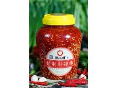 聚名湘 精制剁辣椒2kg*6瓶 蒸鱼调味品整箱批发 辣椒酱