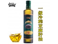 偶麦伽冷榨亚麻籽油 内蒙古亚麻油500ml