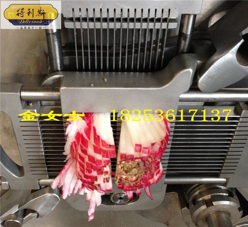 收纳土豆切片切丝机一次折叠切丁机_切丁机_电动凳成型可印logo图片