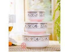 陶瓷保鲜碗厂家定制