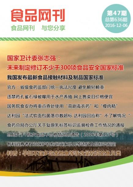 食品网刊2016年第636期