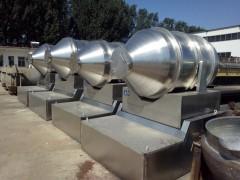 出售二手2000升二维混合机,二手3000升锥形双螺旋混合机