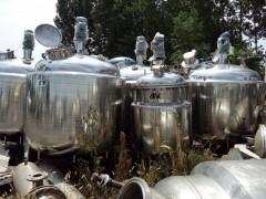 二手不锈钢配料罐,二手不锈钢保温罐二手不锈钢搅拌缸