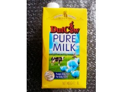 荷兰乳牛纯牛奶