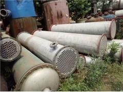 出售二手不锈钢冷凝器,二手不锈钢反应釜,二手搪瓷反应釜