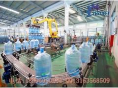 大桶装矿泉水生产线 5加仑桶装水灌装机流水线