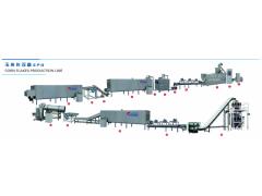 常年供应玉米片设备 玉米膨化机 膨化食品生产线
