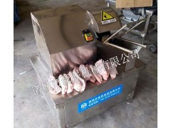 豪联猪蹄劈半机/生、熟猪蹄劈半设备