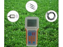 定时定位土壤温度水分盐分PH速测仪
