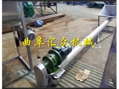 自吸口不锈钢上料机,石英砂管式输送机