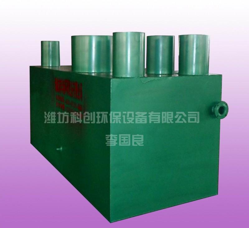 地埋式一体化污水处理设备JYLR-3