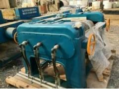 2012年景津压滤机2套,100平方,箱式隔膜,自动拉板