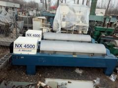 出售二手进口LW450型卧式螺旋卸料沉降离心机价格