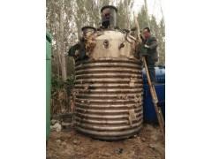 出售工作压力16公斤的二手不锈钢反应釜
