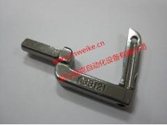 033121纽朗DS-9CW双针四线缝包机钩针弯针