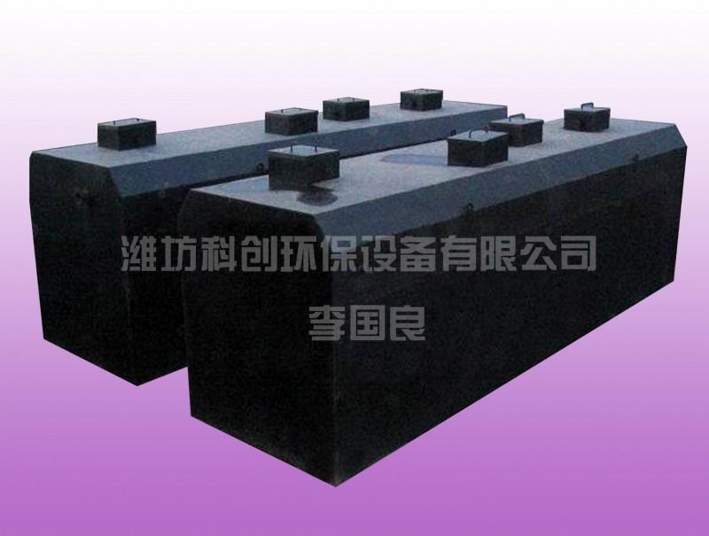 地埋式一体化污水处理设备WSZ-3