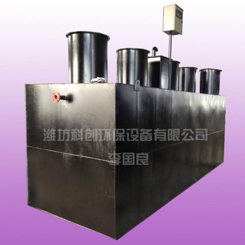 地埋式一体化污水处理设备WSZ-4